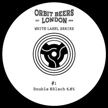 white label series keg badge