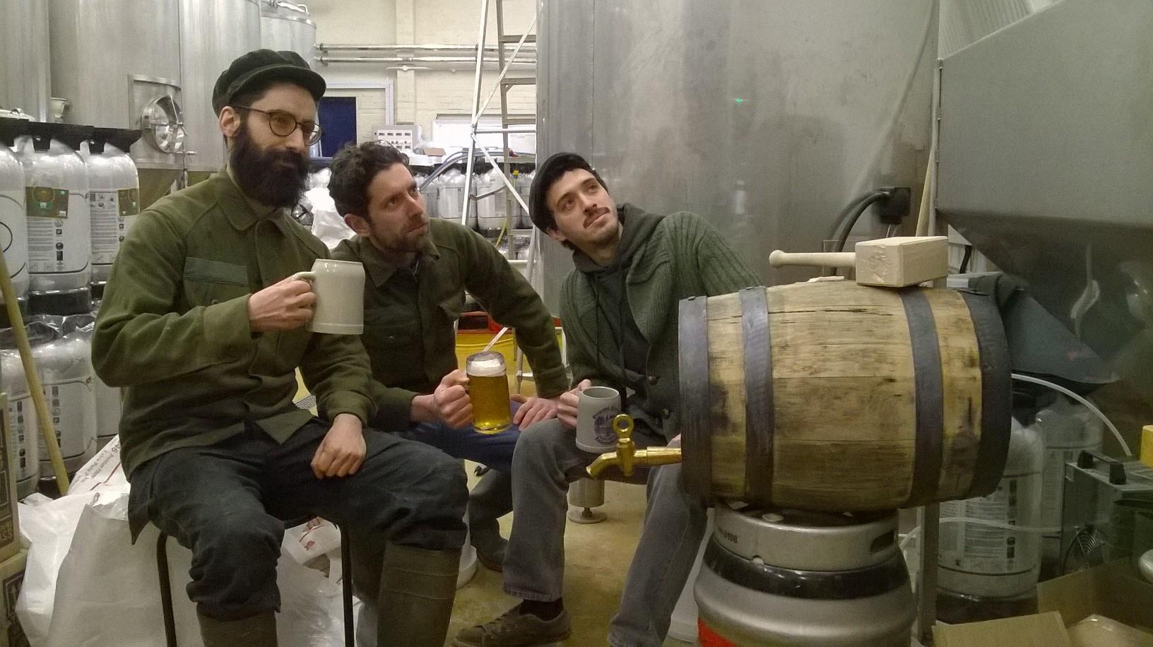 orbit beers fine ales brew day
