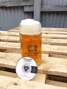 white label 2 in glass