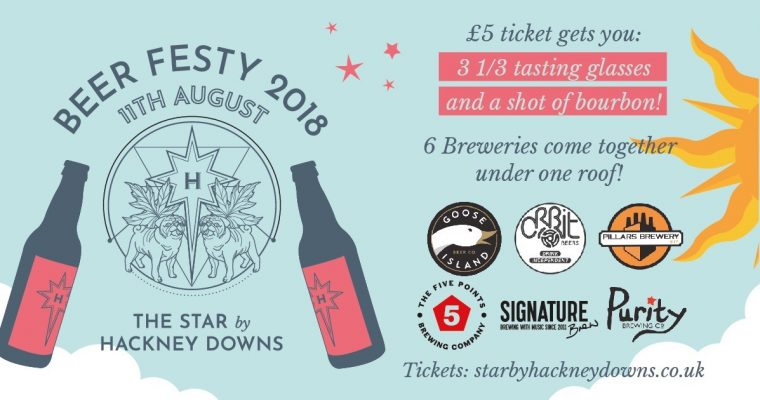 Mini-Beer Festival at Star by Hackney Downs